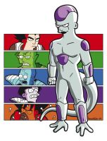 Dragonrama - Frieza Saga by mantarosan