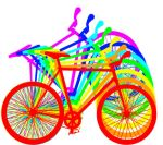 Rainbow Bike by mrcolortvjr