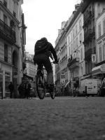 Fast Cyclist 9703389 by StockProject1