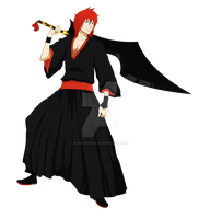 New Bleach OC - Katsura Seishiro by WarriorAngel36