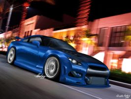 Nissan GTr by thehppBG