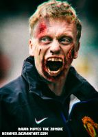 David Moyes The Zombie. Coach Manchester United by Hshamsi