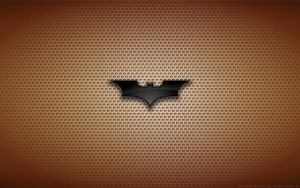 Wallpaper - Batman Begins 'Poster Style' Logo by Kalangozilla