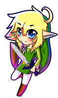 Toon Link by FantasyLinky