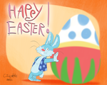 Happy Easter 2015 by qwertypictures