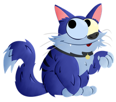 Blue Cat by Toxicoow