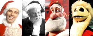 The best and worst movie Santas Unified by EspioArtwork31