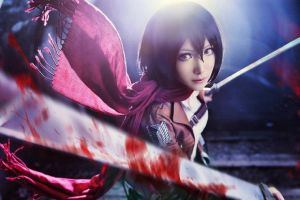 Mikasa Ackerman - Attack on Titan by MonCosplay
