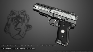 Beretta m94 - ADDER by Cleitus2012