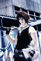 SQUALL LEONHART - Cosplay - ready to fight by Shinkan-Seto