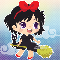 Kiki's Delivery Service by Miss-Glitter
