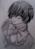 Ciel Phantomhive by Monochrome-Rabbit