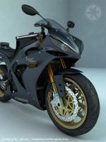 YAMAHA yzf - r1 by 3dsquid