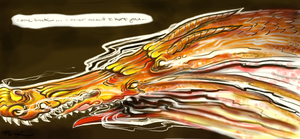Weeping Dragon by PsychedelicMind
