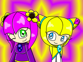 REQUEST Iris and Lilly :D by LillyTheSeedrian