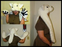 White Wolf Hat by Lupas-Deva