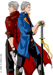 DEVIL MAY CRY - Brothers by HIGH-OVERSEER