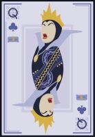Queen of Clubs by Mr-Bluebird