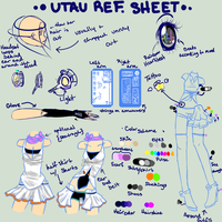 UTAU Reference Sheet by RomaKH