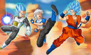 Dragon Ball Xenoverse - Eternal Rival by WembleyAraujo