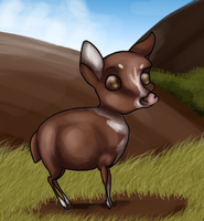 Mouse Deer by CoughEBeanz