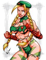 Savage Land Cammy commission by gb2k