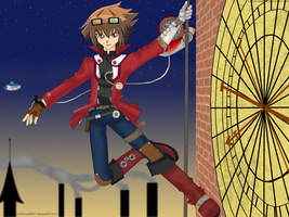 YGX Steampunk Judai by Ravus4001