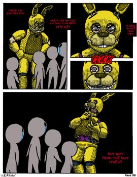 FNAF: Requiem with a Birthday Cake, page 22 by Negaduck9