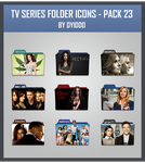 TV Series Folder Icons - Pack 23 by DYIDDO