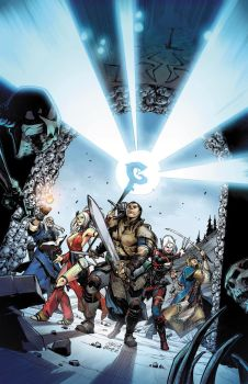 PATHFINDER: HOLLOW MOUNTAIN #1 COVER color by CarlosGomezArtist
