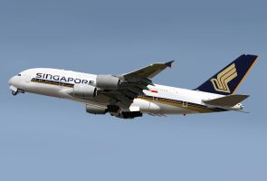 A380 Singapore Airlines by Dap1987