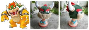Bowser hat by akirepower