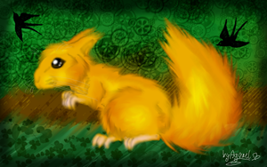 Squirrel by AgraelLPS