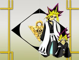 YGO_Bleach Crossover 2 by darkangelatem
