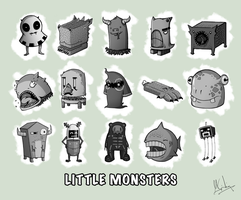 Little Monsters. by Spikings