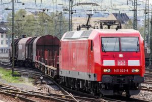 Hauling heavy freight by Budeltier