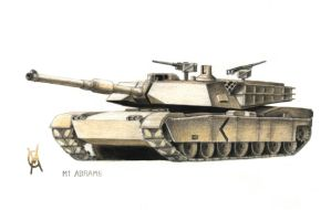 M1 TANK by VyToR