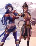 Alma and Urmai by hybridmink