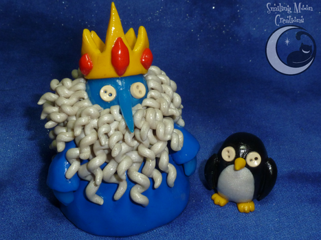 Cute as a Button Ice King + Gunter by SmilingMoonCreations