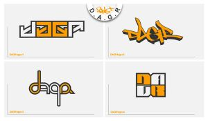 DAGR -logo sheet 1- by sektrone