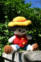 Rufy One Piece Amigurumi by amiguGEEK
