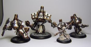 WARMACHINE Menoth Battlegroup by FraterSINISTER