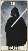 Star Wars Tarot Deck - XIII Death by ctyler