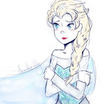 :Frozen: Elsa by bumble-lily