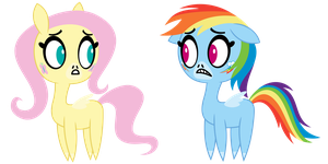 Pretty Pretty Pegasi by DewlShock