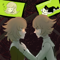 You'll Do Fine - Mastermind!Chihiro AU by peoplefully