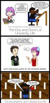 University Guide Collab by UncleWoodstock