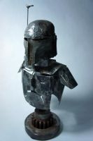 Scrap Metal Boba Fett - 4 by Devin-Francisco
