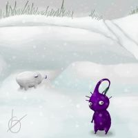 Pikmin: Out in the Snow by amunition