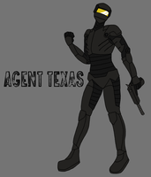 RvB - GSM - Agent Texas by Violent-Medic